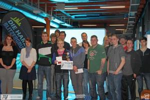 Die Finalisten und Veranstalter